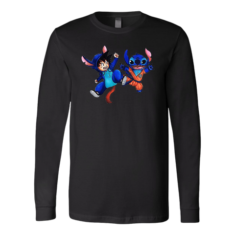 Super Saiyan - Goku and Stitch -Unisex Long Sleeve - TL01636LS