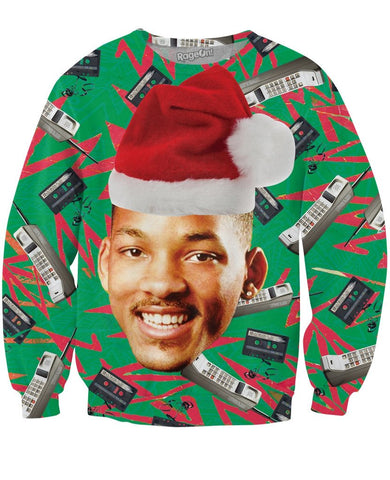 Fresh Prince Christmas Crewneck Sweatshirt