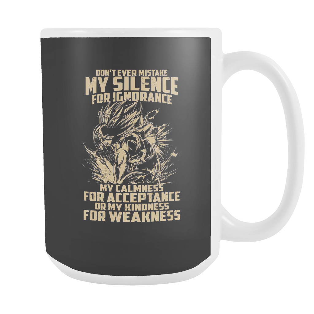 Super Saiyan Gohan Silent for Ignorance 15oz Coffee Mug - TL00449M5