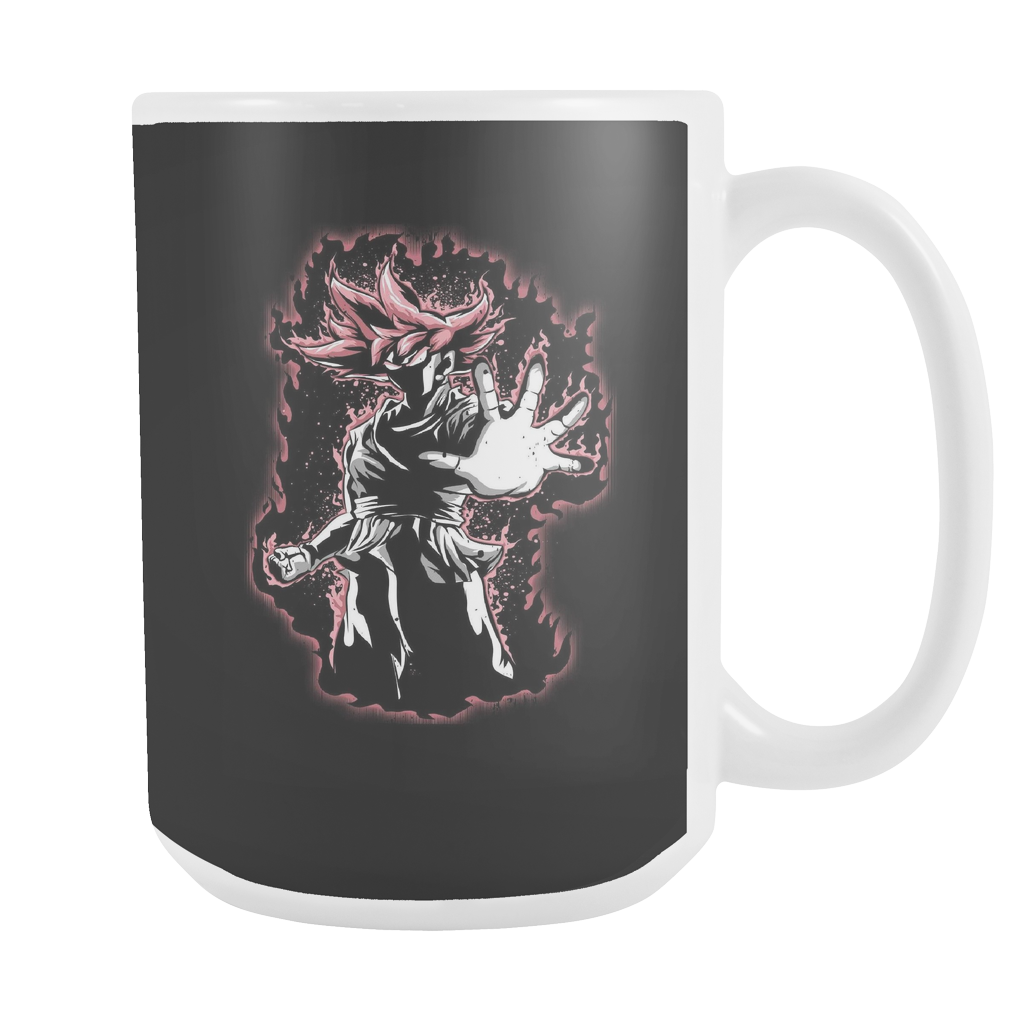 Super Saiyan - SSj Rose - 15oz Coffee Mug - TL00883M5