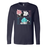 Super Saiyan - Black Goku vs Goku God - Unisex Long Sleeve T Shirt - TL01658LS