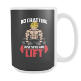 Super Saiyan Goku Gym Lift Up 15oz Coffee Mug - TL00462M5