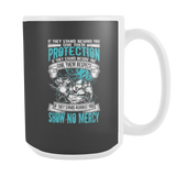 Super Saiyan Blue Goku God No Mercy 15oz Coffee Mug - TL00017M5