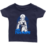 Super Saiyan his Trunk Infant Short Sleeve T Shirt