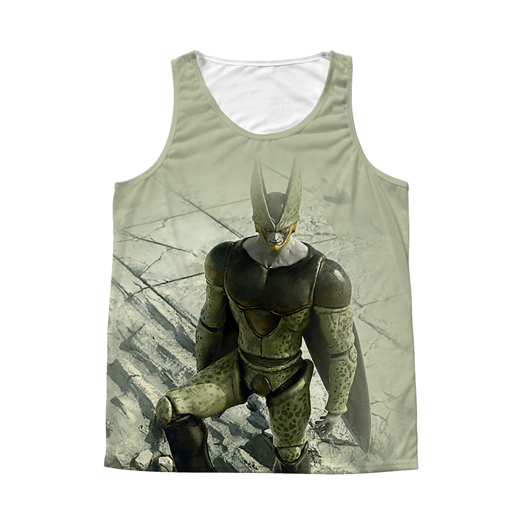 Super Saiyan Cell 1 Sided 3D tank top t shirt Tank - TL00365AT