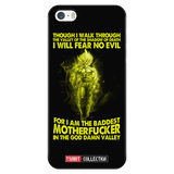 Super Saiyan Goku Fear No Evil iPhone 5, 5s, 6, 6s, 6 plus, 6s plus phone case - TL00242PC-BLACK