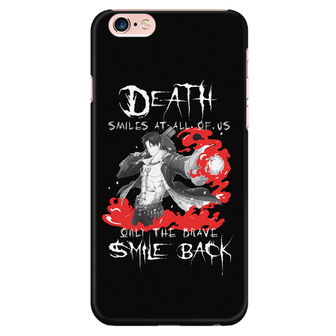 "One Piece - Ace : "" Only The Brave Smile Back "" - Iphone Phone Case - TL01267PC"