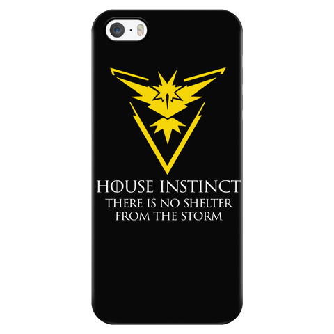 Pokemon house instinct there is no shelter from the storm Iphone Case - TL00629PC