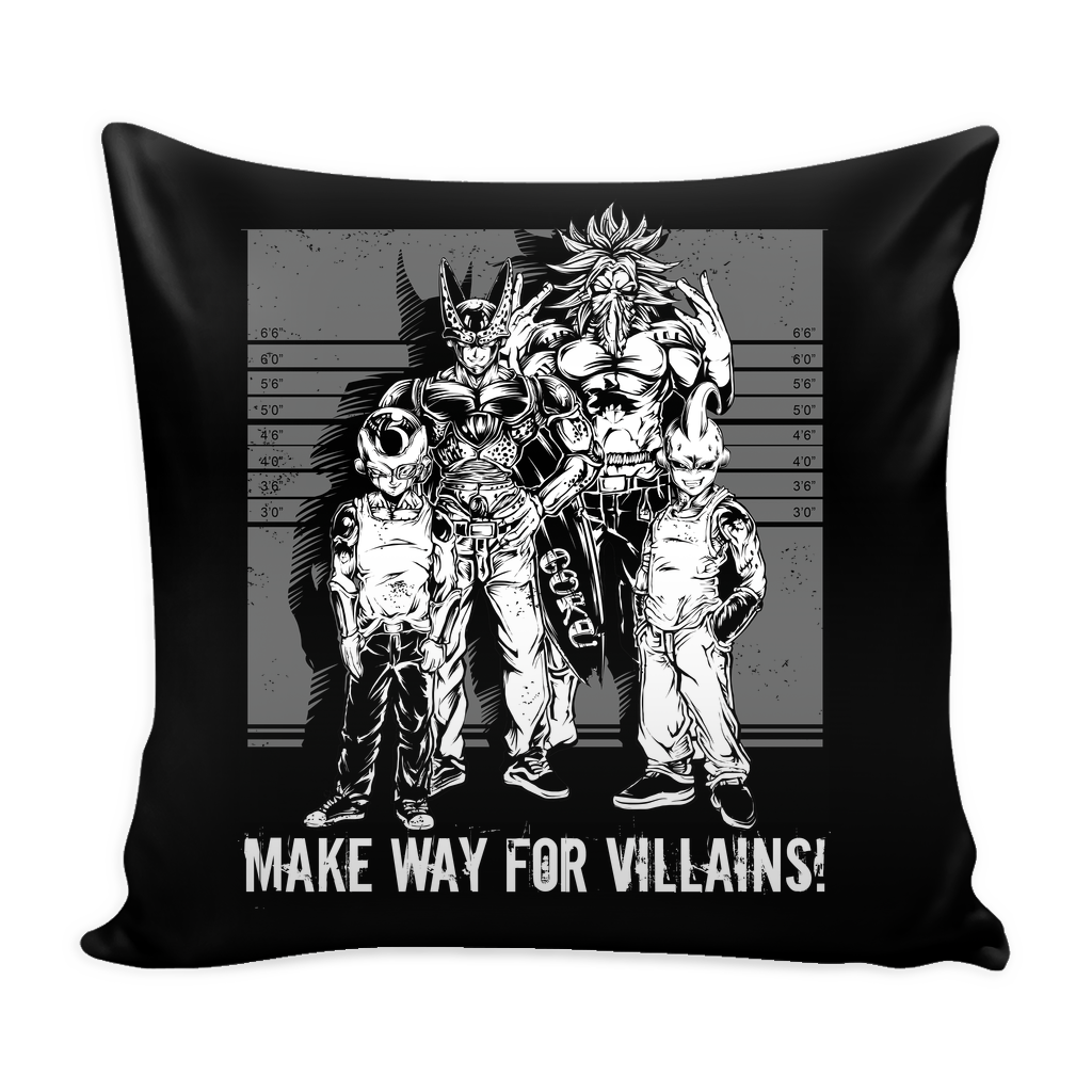 "Super Saiyan Villians Pillow Cover 16"" - TL00055PL"