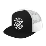 Fullmetal Alchemist Alphonse Elric White Symbol Trucker Hat - PF00336TH - The TShirt Collection