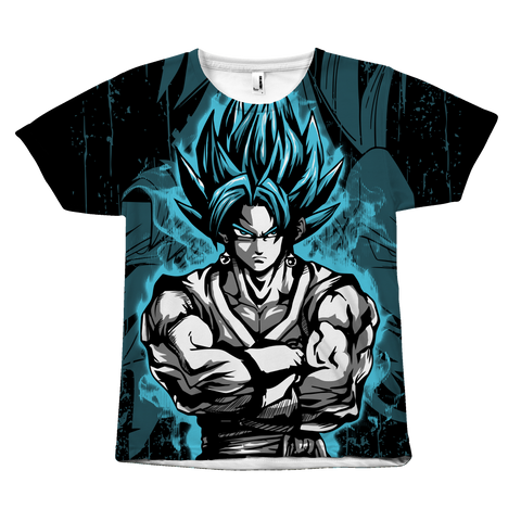 Super Saiyan - SSJ Vegito God Blue - All Over Print T-Shirt - TL00897AO