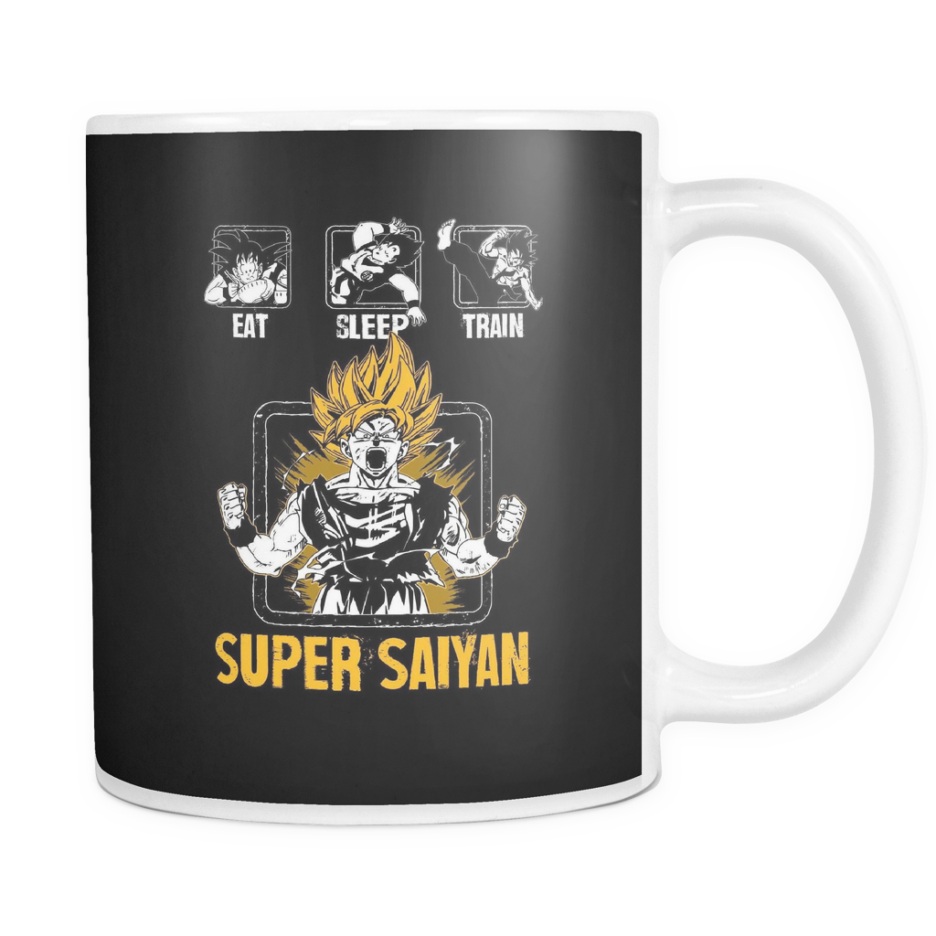 Super Saiyan Goku Training 11oz Coffee Mug - TL00043M1