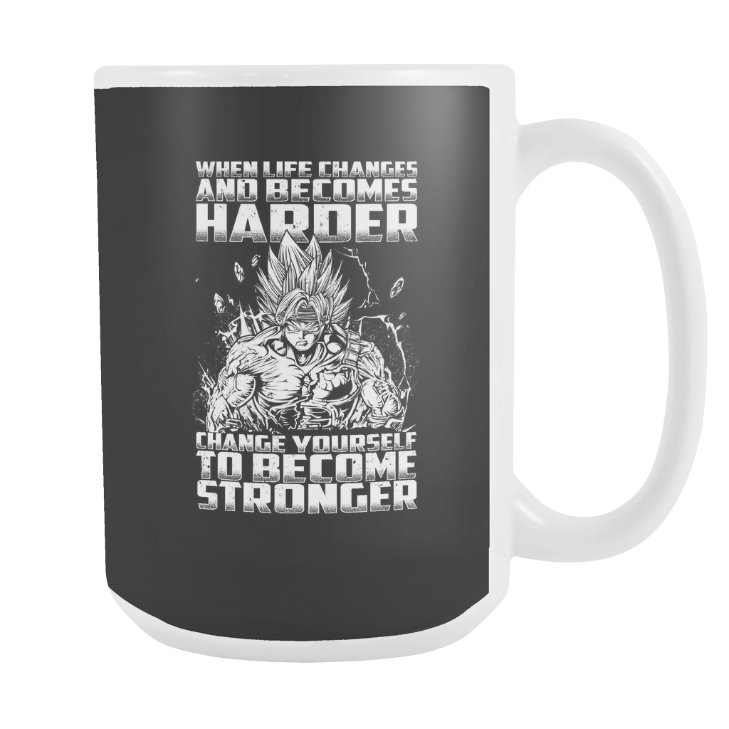 Super Saiyan Bardock become stronger 15oz Coffee Mug - TL00475M5