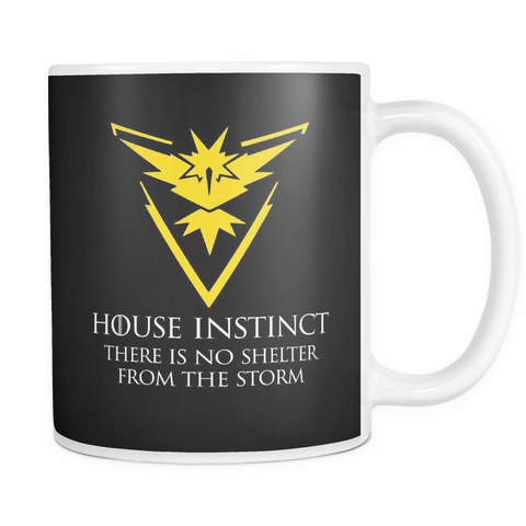 Pokemon house instinct there is no shelter from the storm 11oz Coffee Mug - TL00629M1