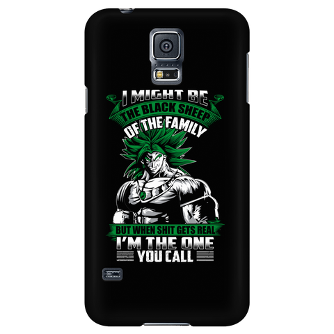 Super Saiyan - Broly is not a black sheep - Android Phone Case - TL01217AD