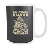 Super Saiyan Bardock become stronger 15oz Coffee Mug - TL00476M5