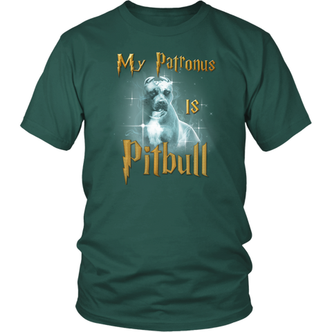 Pitbull Collection- Pit Bull ,My Patronus - Men Short Sleeve T Shirt - TL01689SS