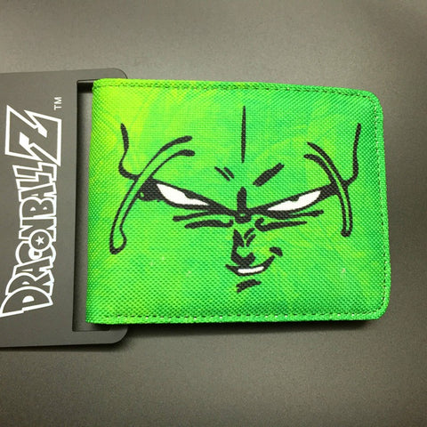 DRAGON BALL character Piccolo canvas man wallets