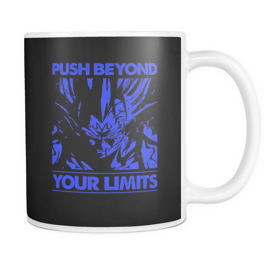 Super Saiyan Majin Vegeta push limits 11oz Coffee Mug - TL00225M1