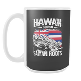 Super Saiyan HAWAII Grown Saiyan Roots 15oz Coffee Mug - TL00165M5