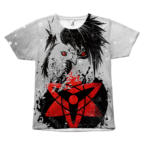 Naruto - Sasuke - All Over Print T Shirt - TL01014AO