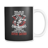 Super Saiyan Vegeta train to get title 11oz Coffee Mug - TL00052M1