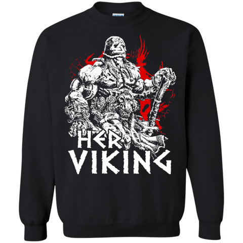 Couple Collection - Her Viking - Unisex Sweatshirt T Shirt - SSID2016