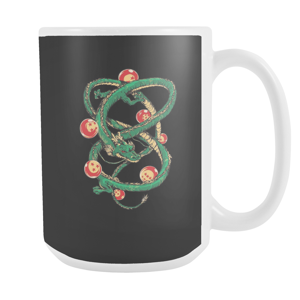 Super Saiyan Shenron with balls 15oz Coffee Mug - TL00119L5