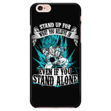 Super Saiyan Goku God Blue iPhone 5, 5s, 6, 6s, 6 plus, 6s plus phone case - TL00204PC-BLACK