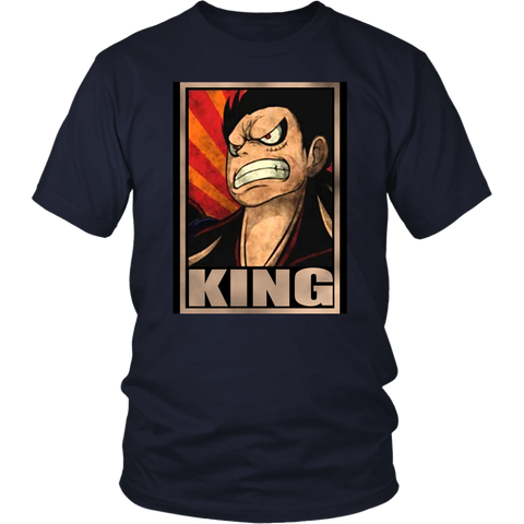 One Piece - Luffy King -Men Short Sleeve T Shirt - TL2010SS