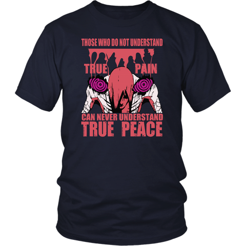 Naruto - True pain can never understand true peace -Men Short Sleeve T Shirt - TL01601SS