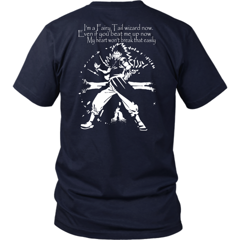 Fairy Tail - I m a fairy tail wizard now Gajeel Fairy tail -Men Short Sleeve T Shirt - TL01993