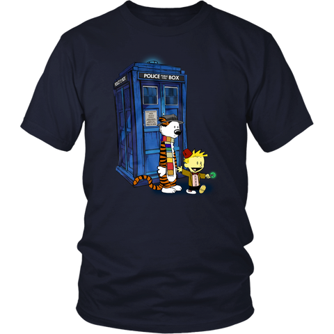 Doctor Who - Doctor Calvin - Men Short Sleeve T Shirt - TL01800SS