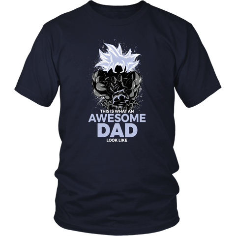 Dragon Ball Super Goku Cool Dad Master Ultra Instinct Art Shirt - TL01630SS
