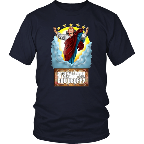 One Piece - Do you have a moment to talk about our god usopp? -Men Short Sleeve T Shirt -TL01661SS