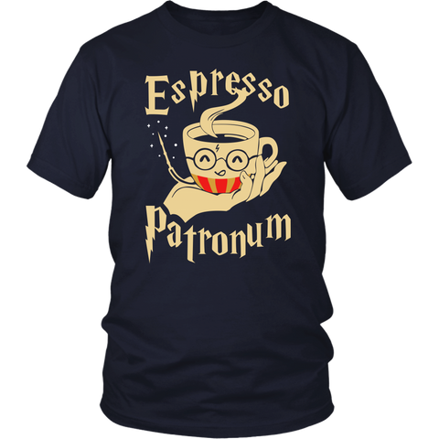 Harry Potter- Espresso Patronum -Men Short Sleeve T Shirt - TL01701SS