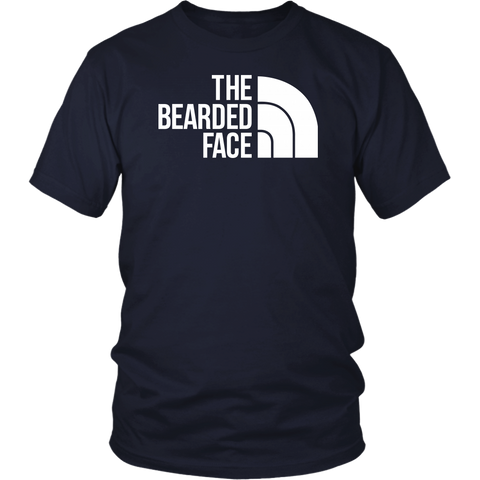 Beards - THE BEARDED FACE - Men Short Sleeve T Shirt - TL01709SS