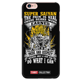 Super Saiyan Goku iPhone 5, 5s, 6, 6s, 6 plus, 6s plus phone case - TL00047PC-BLACK