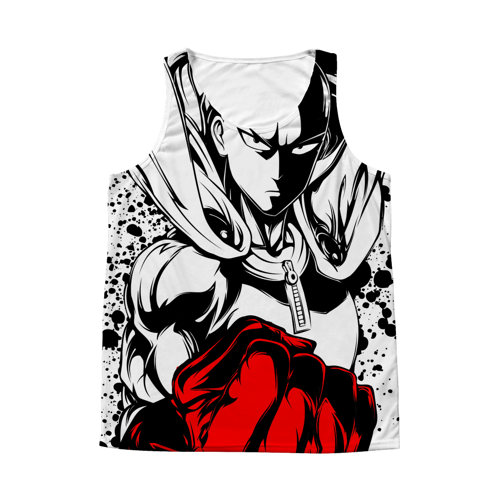 One Punch Man - Saitama - 1 Sided 3D tank top t shirt Tank - TL00921AT