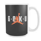 Super Saiyan Goku Air 15oz Coffee Mug - TL00042M5