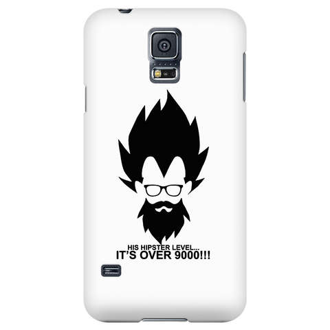 Super saiyan - His hipster lever is over 9000 - Android Phone Case - TL01342AD