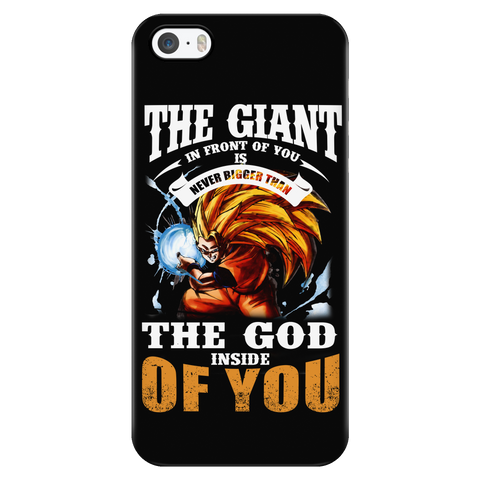 Super Saiyan - the god inside of you - Iphone Phone Case - TL01171PC