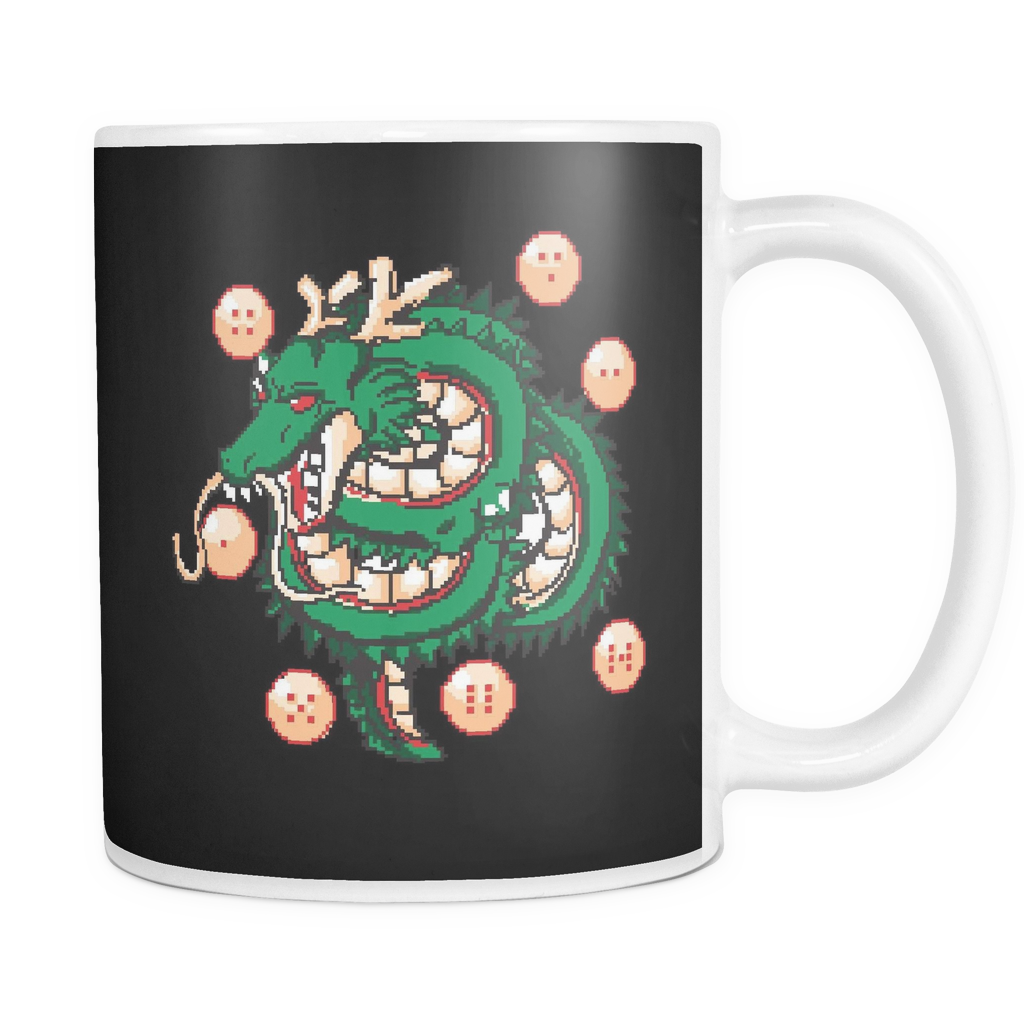 Super Saiyan Shenron with balls 11oz Coffee Mug - TL00118M1