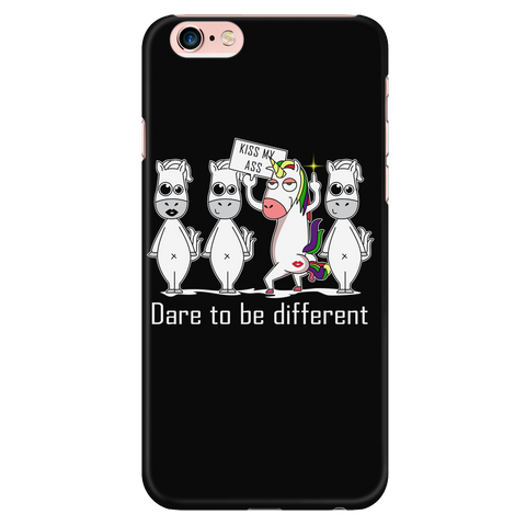 Unicorn - Dare to be different - Iphone Phone Case - TL01306PC