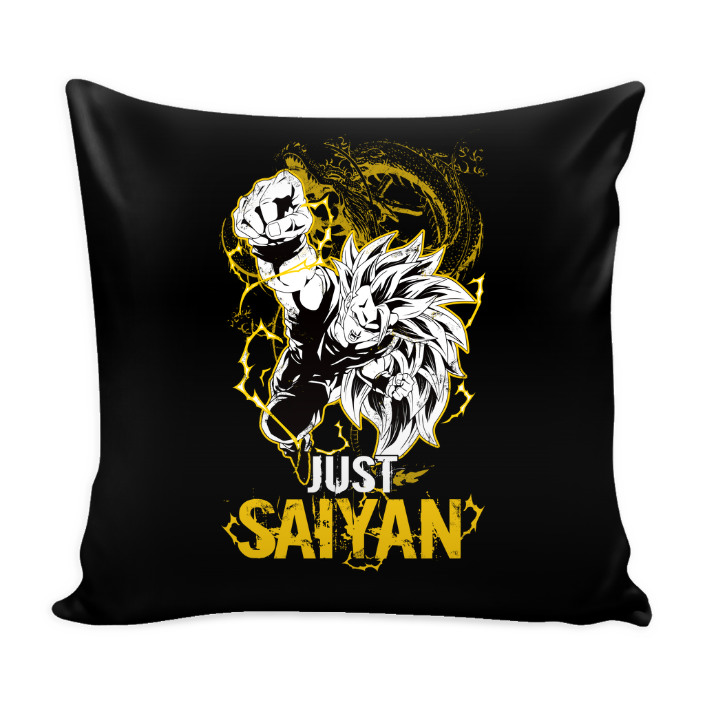 "Super Saiyan Goku Dragon Fist Pillow Cover 16"" - TL00035PL"