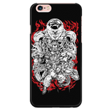 Super Saiyan Goku Vegeta vs Frieza iPhone 5, 5s, 6, 6s, 6 plus, 6s plus phone case - TL00127PC-BLACK