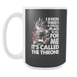 Super Saiyan Majin Vegeta Throne 15oz Coffee Mug - TL00213M5