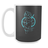 SUPER SAIYAN VEGETA GOD BLUE 15oz Coffee Mug - TL00173M5