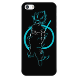 Super Saiyan Goku God iPhone 5, 5s, 6, 6s, 6 plus, 6s plus phone case - TL00206PC-BLACK