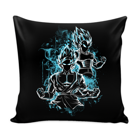 Super Saiyan - Goku & Vegeta God Blue - Pillow Cover - TL00895PL